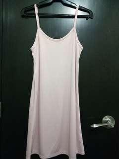 Pink sleeveless inside wear! Fits med-large frames. No flaws :) 50 only!