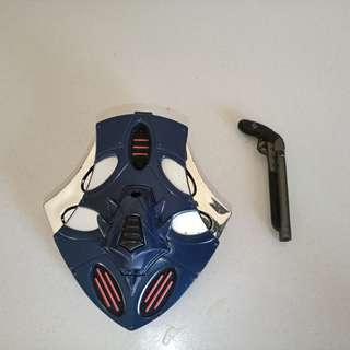 Armor attack batman Marvel Legends Bishop accessories