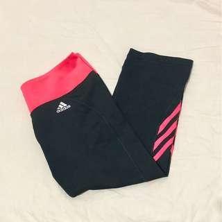 🚚 【健身】Adidas 愛迪達 七分運動褲