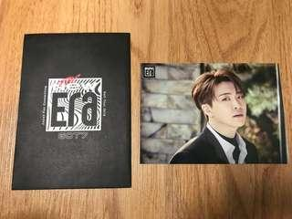 GOT7 CHOI YOUNGJAE THE NEW ERA JAPAN TRADING CARDS