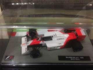 1:43 Scale Authentic McLaren MP4/4-1988