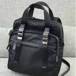 Prada Unisex Nylon Black Bag 591a4733f4d79