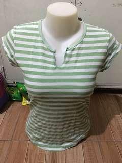 Stripes V-Neck (Small to Medium size)