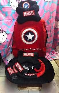 New Captain America Car Seat Covers
