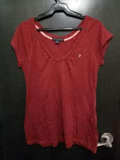 50 PESOS LAST PRICE. Pretty red blouse. No flaws :)