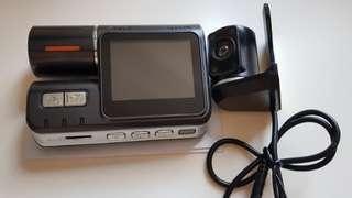 Rotating Dual Lens DVR car cam