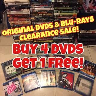 🎬Original DVDs/Blu-Ray Clearance