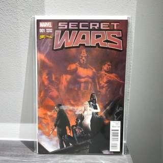 Secret Wars #1 Del Otto ComicXposure Variant