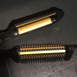 SS Shiny Hair Curler