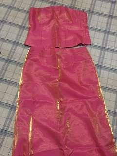 Plus Size Preloved Pink Gown