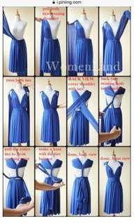 Multiway dress-