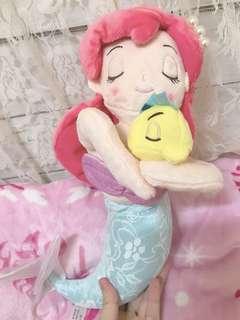 Disney mermaid soft toy 美人魚