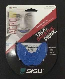 SISU AERO Mouth Guard (Electric Blue)