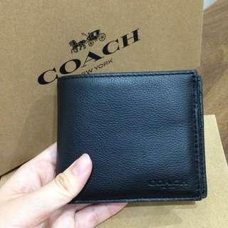 💯Coach Men Wallet F74991