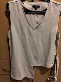 Nude formal sleeveless