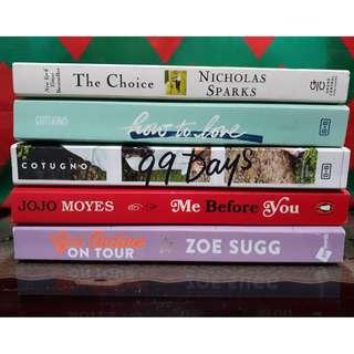 Pre-Loved Books (From P150 to P400)