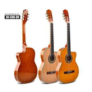 Thin Body Classical Guitar with Free gift. 4/4 size