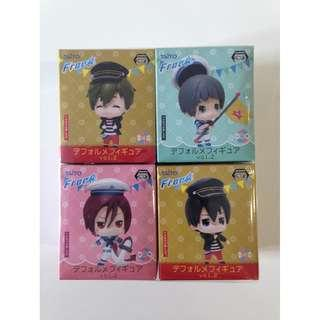Free! Official Chibi Figures Set