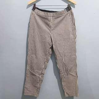 Stripes stretch pants