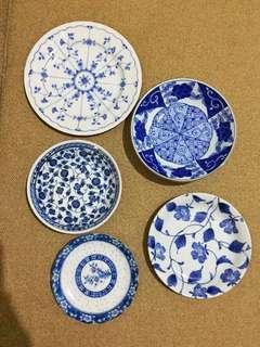 Cute plates mix & match