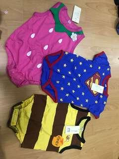 Baby rompers mixed size