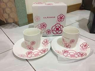 clathas 馬克杯盤組