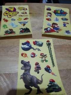 Super Mario Odyssey Stickers