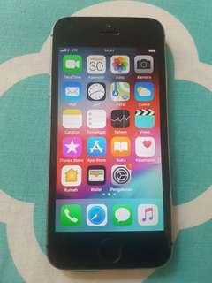 iPhone 5s 16GB Space Grey Batangan
