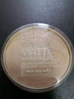 Rimmel Stay Matte Pressed Powder - #005 Silky Beige
