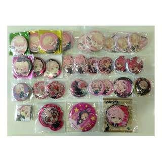 Tsukiuta-The Animation:KisaragiKoi Merchandise set 1- Badges set/Per