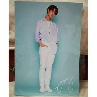 Wanna One Bae Jin Young Pop Up Store Post Card