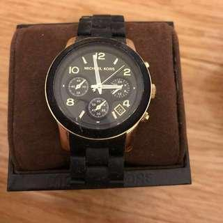 Women's Michael Kors black watch