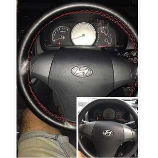 Car steering wheel wrapping service