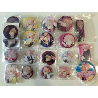 Tsukiuta-The Animation:KisaragiKoi Merchandise set 2- Badges set/Per