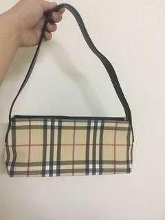 FURTHER MARKDOWN! Authentic Vintage Burberry Shoulder Bag