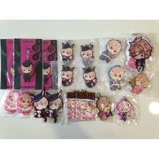 Tsukiuta-The Animation:KisaragiKoi Merchandise set 3- Rubber-Strap set/Per