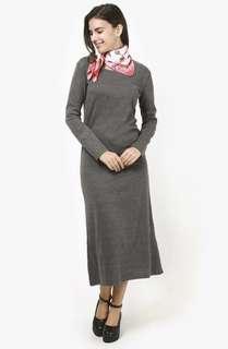 Jin Hayari Basic Dress Grey