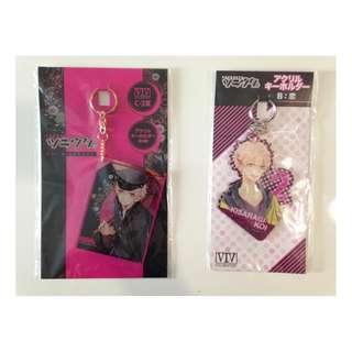 Tsukiuta-The Animation:KisaragiKoi Merchandise set 5- Acrylic Key-chain set/Per