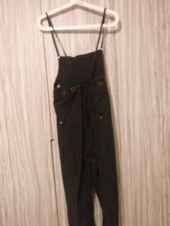 Strappy tie back jumpsuit