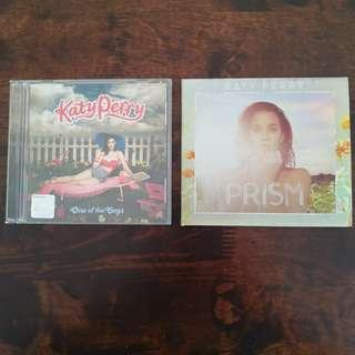 CD: Katy Perry Albums