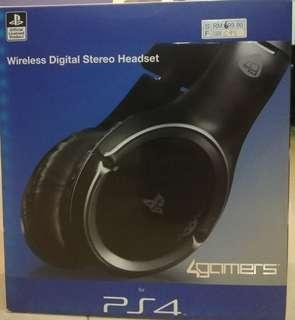 PS4 Wireless Digital Stereo Headset