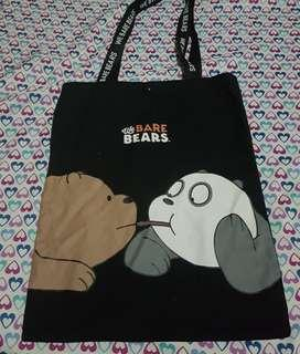 Miniso We Bare Bears Tote Bag