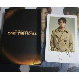Wanna One One:The World Concert Ong Seung Woo Polariod