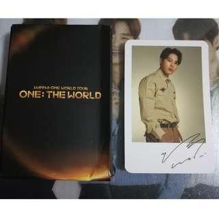 Wanna One One:The World Concert Ha Sung Woon Polariod