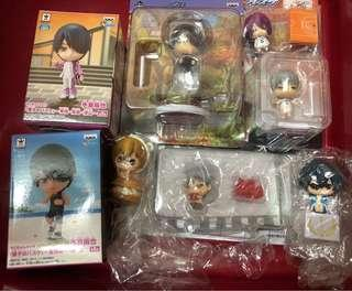 various official anime figures