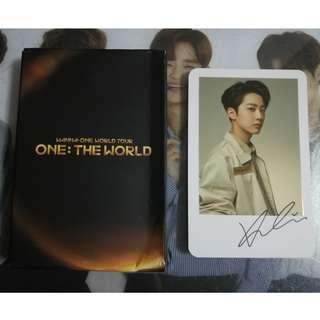 Wanna One One:The World Concert Lai Kuan Lin Polariod