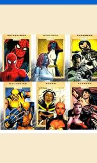 🚚 Marvel 75th anniversary trading card set of 90 cards