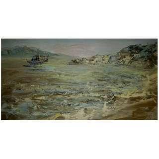 董仙舟大師 -「菊花島寫生系列之一」油畫