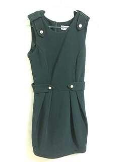 Green Skinny Fitting Dress