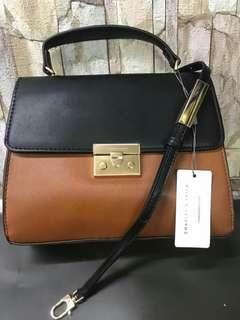 CHARLES and KEITH authentic hand and sling bag